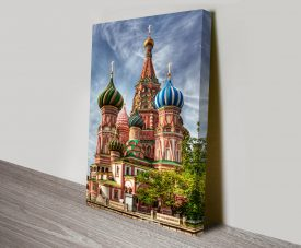 Moscow Cityscape Wall Art on Canvas