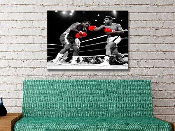 Muhammad Ali pop art Canvas Print