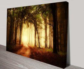 Mystical Woods Wall Art Print