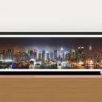 New York Skyline Panorama Photo Canvas Wall Art Print