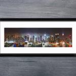New York Skyline Panorama Photo Art