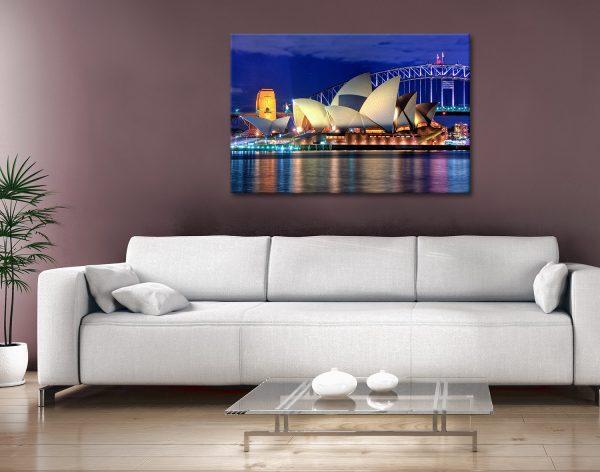 Opera House Canvas Art Print