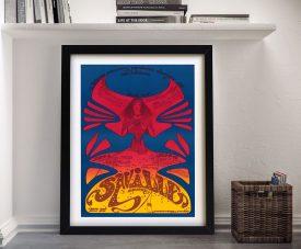 Buy a Framed Hendrix Osiris Concert Poster Print