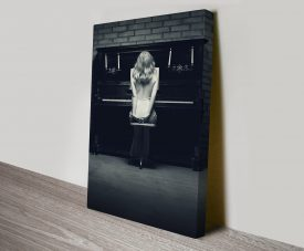 Piano Glamour Canvas Wall Art Print