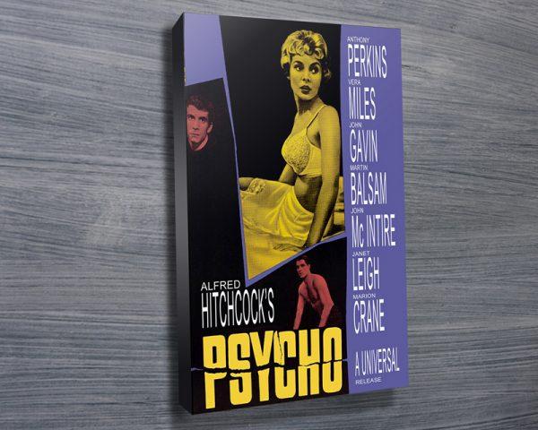 Psycho movie poster print