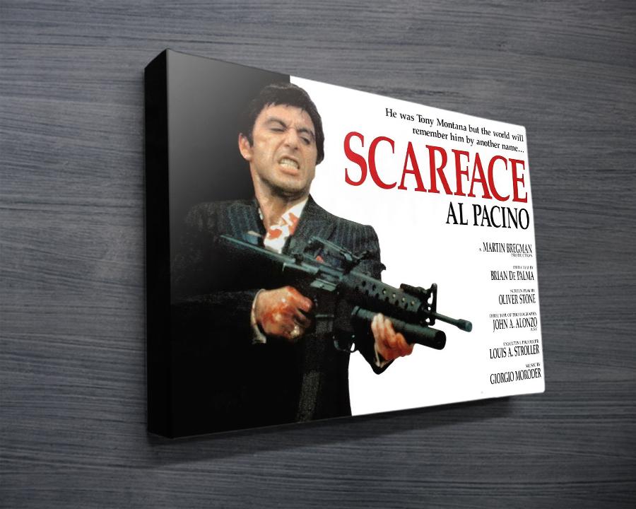 Scarface Ii Canvas Prints Australia