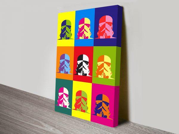 Star Wars Warhol Pop Art III