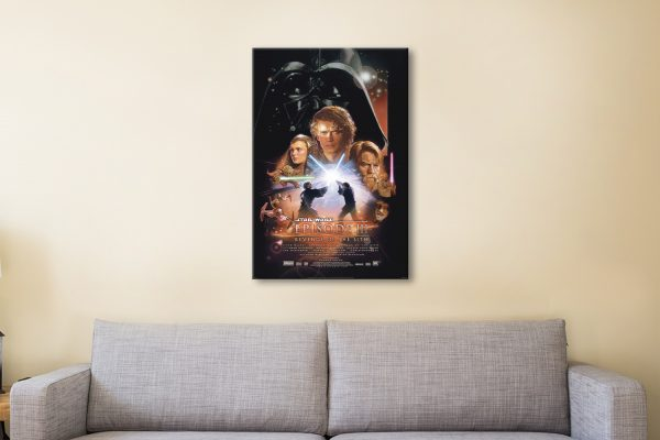 Ready to Hang Revenge of the Sith Poster Online