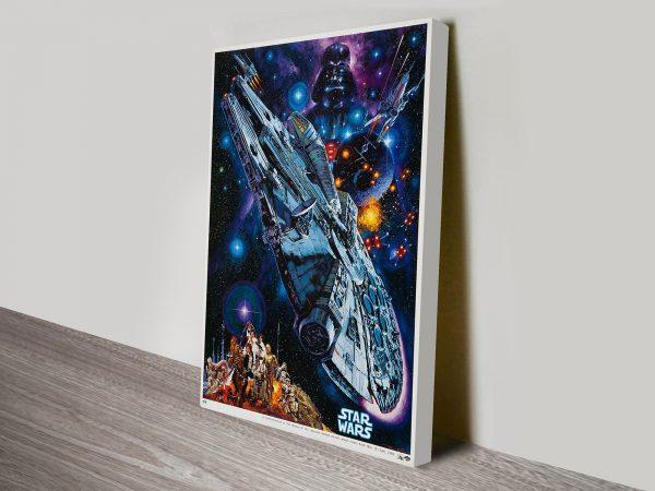 Star Wars poster wall art Sydney