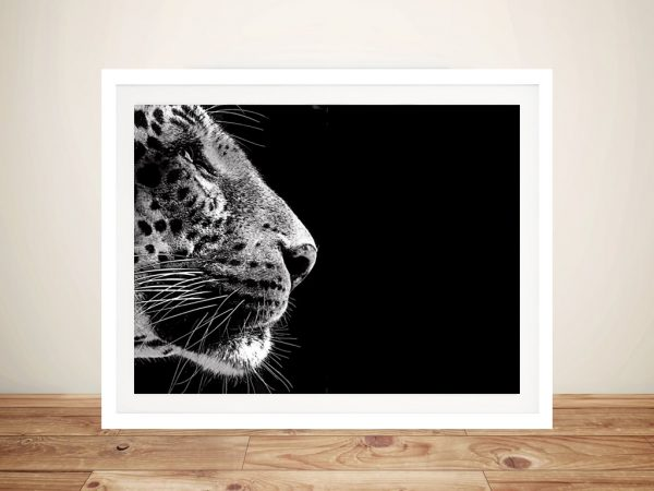 Stare of the Leopard Framed Wall Art