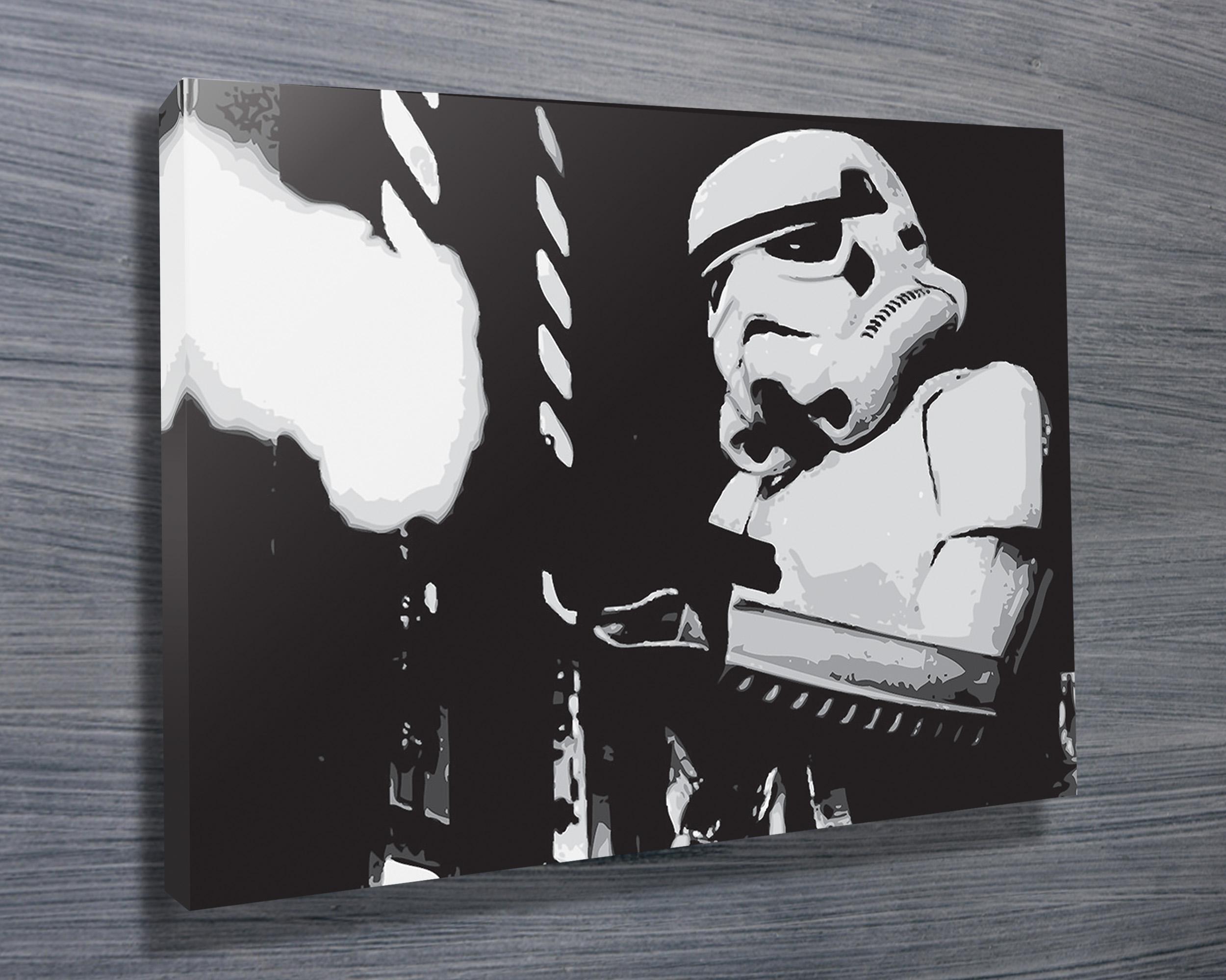Stormtrooper Ii Art Canvas Prints Australia