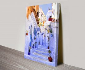 Streets of Morocco Wall Art on Canvas
