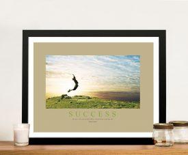 Success II Framed Motivational Prints