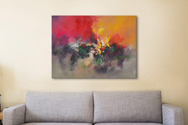 Abstract Canvas Print Australia