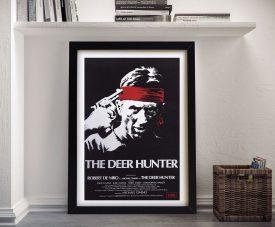 The Deer Hunter Movie Poster Framed Wall Art