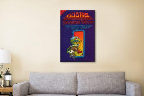 Buy The Doors Rock Memorabilia Wall Art Online