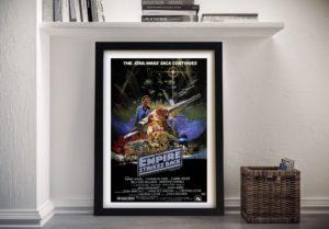 The Empire Strikes Back Framed Movie Poster Wall Art