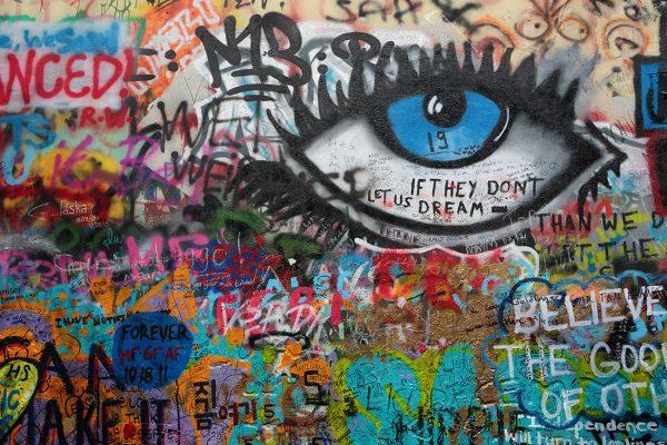 Buy Graffiti on Canvas Australia