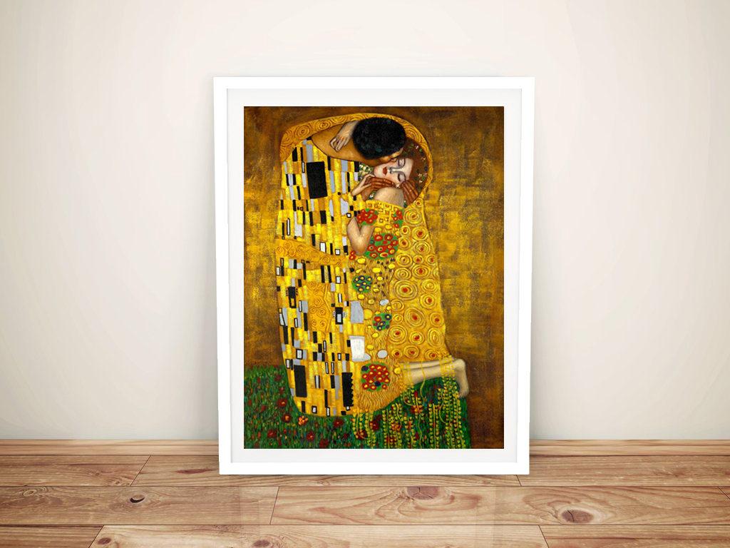 The Kiss By Gustav Klimt Canvas Print Cheap Wall Art