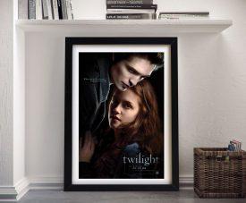 Twilight Movie Poster Print on Canvas