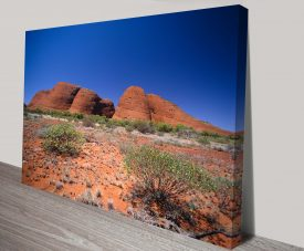 Uluru Wall Art Print on Canvas