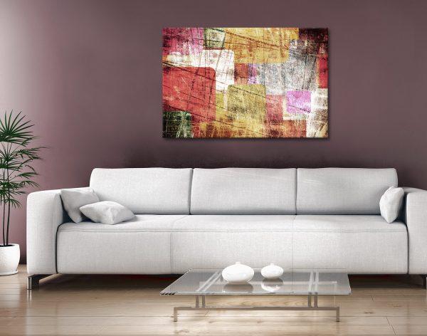Abstract Canvas Artwork Prints