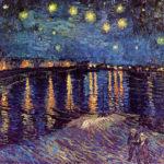 Van Gogh Starry Night over the Rhone Canvas print