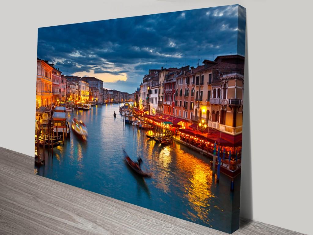 Venice Wall Art On Canvas & Venice Wall Art - Elitflat