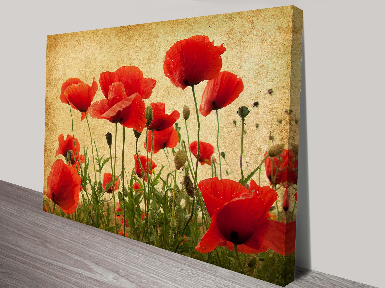 Canvas Floral Wall Art - Elitflat