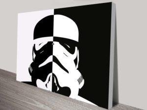 Star Wars Stormtrooper Pop Art