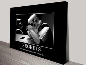 star wars regrets poster art