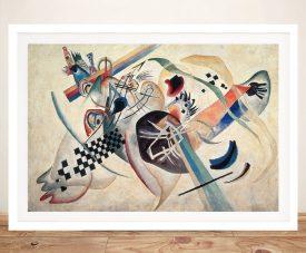 Untitled Modern Art Print by Wassily Kandinsky
