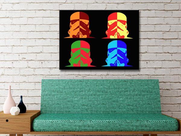 Buy Stormtrooper Canvas Artwork
