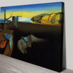 The Persistence of Memory-by Salvador Dali Canvas Print