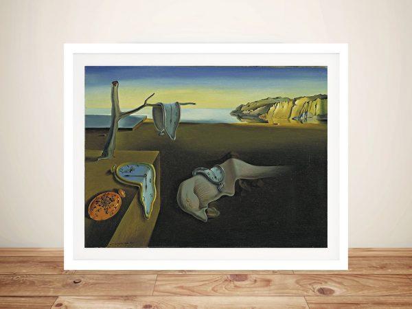 Salvador Dali the Persistence of Memory Framed Wall Art