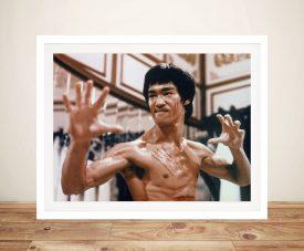 Bruce Lee Kung Fu Icon