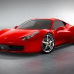 Ferrari canvas print Australia