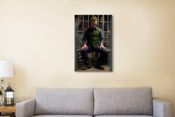 The Joker Canvas Artwork