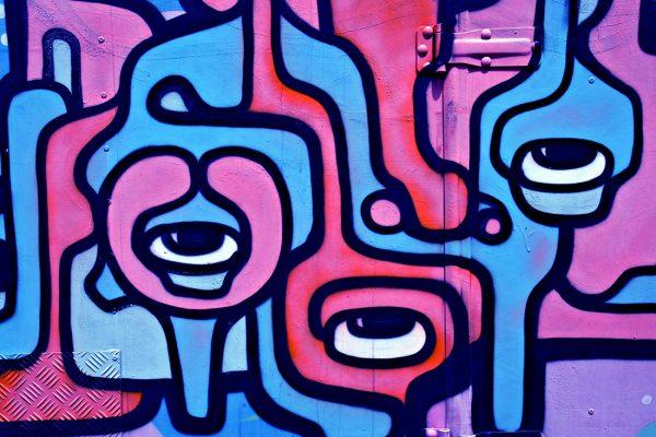 Liquid Eyeballs Street Art