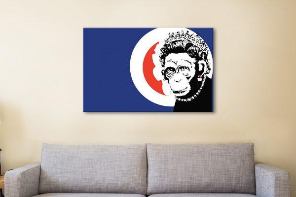 Buy Edgy Banksy Wall Art Great Gift Ideas Online