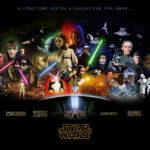 star wars all movies wall art