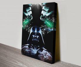 Star Wars Darth Vader Quality Canvas Art