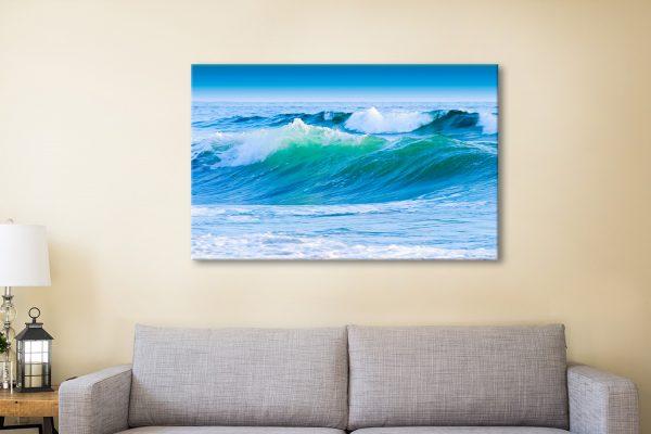 Azure Seas Canvas Artwork