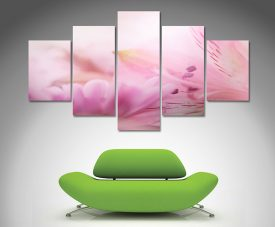 Blossums 5 panel wall art