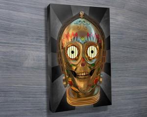 C3PO Dia de los Muertes