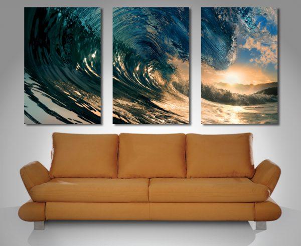 Triptych 3 Panel Wall Art