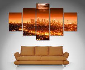 Los Angeles canvas art