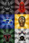 Star Wars dia de los Canvas Art Australia