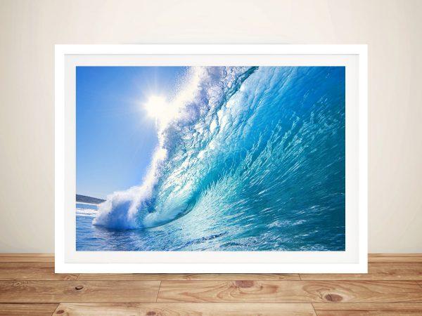 Waves Framed Wall Art
