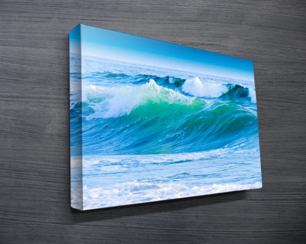 Azure Seas Surf Art